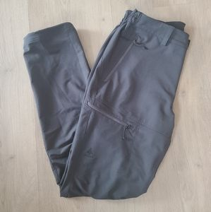 Mens Woods grey soft shell pants